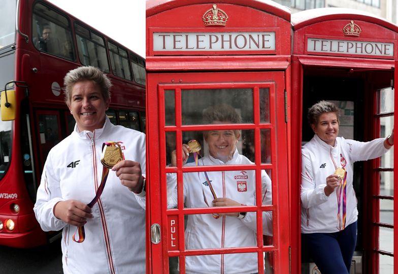 Anita Włodarczyk wywalczyła złoty medal na lekkoatletycznych mistrzostwach świata w Londynie