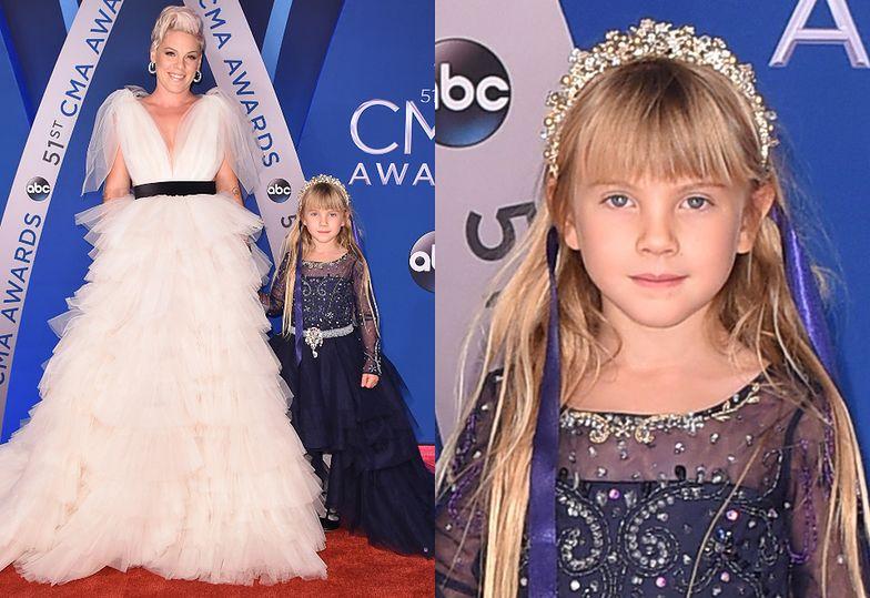 Pink z 6-letnią córką Willow