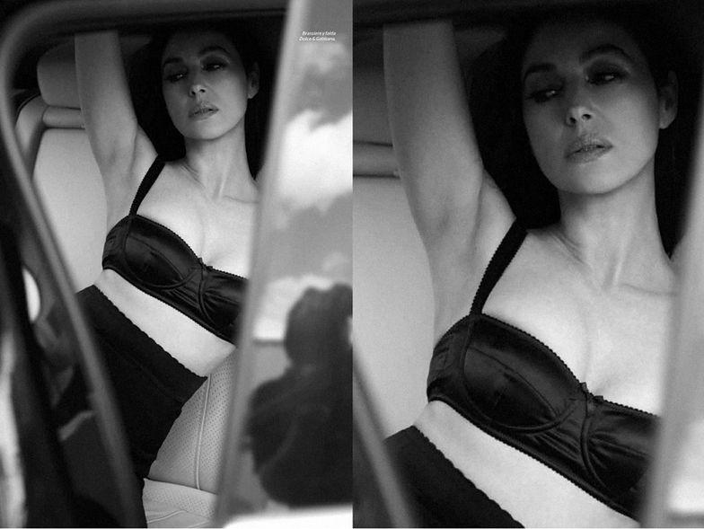 """Monika Bellucci w sesji """"Esquire'a"""""""