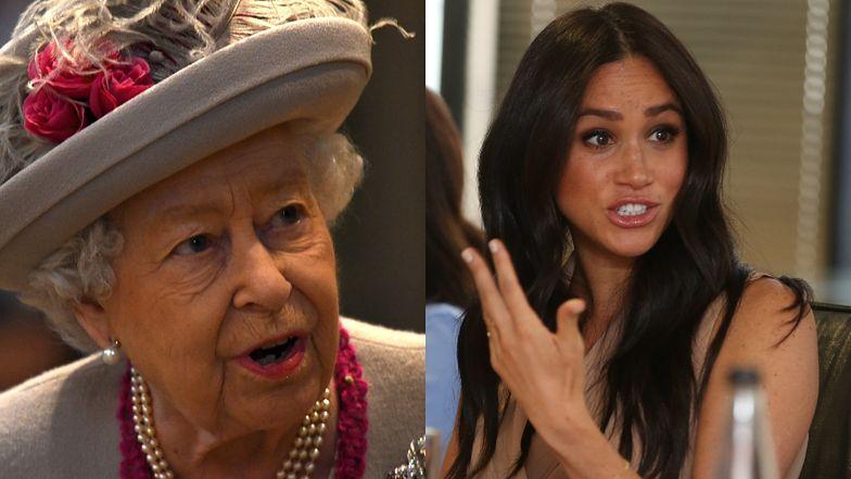 Meghan ma na pieńku z królową...