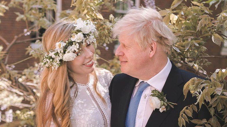 Boris Johnson wziął SEKRETNY ŚLUB z młodszą o 23 lata Carrie Symonds! (FOTO)