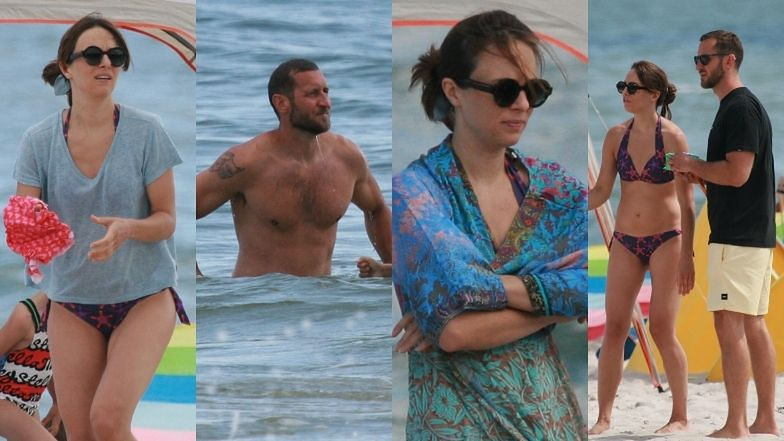 Anna Czartoryska relaksuje się na plaży z mężem, dziećmi i... teściową (ZDJĘCIA)