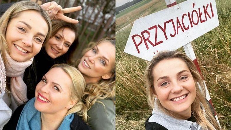 """Uradowana Małgorzata Socha ogłasza POWRÓT na plan """"Przyjaciółek"""""""