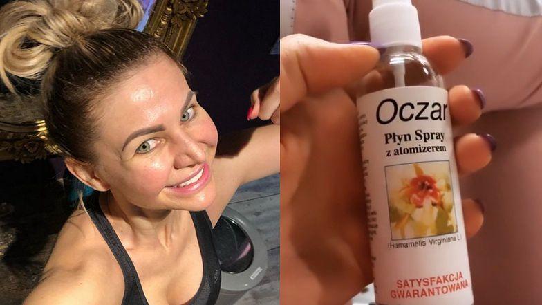 """Maja Rutkowski ratuje się przed koronawirusem… PŁYNEM NA HEMOROIDY: """"Spryskuję sobie twarz i ręce"""""""