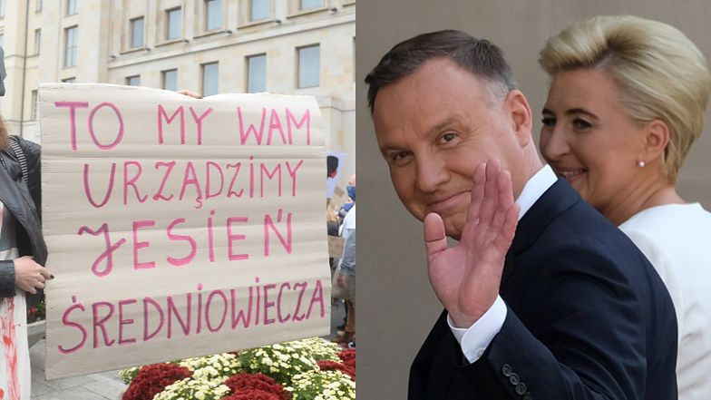 """Andrzej Duda PRZERYWA MILCZENIE: """"Rozumiem kobiety, które protestują, choć jestem PRZECIWNIKIEM aborcji eugenicznej"""""""