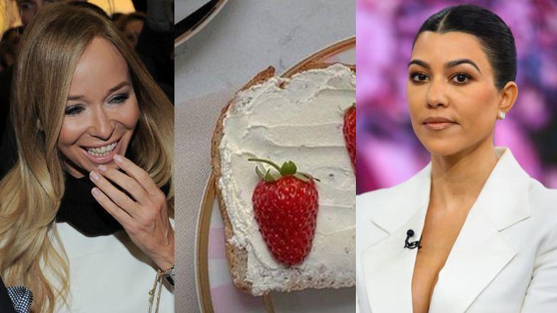 Sukces Joanny Przetakiewicz: Kourtney Kardashian JE TOSTY Z JEJ TALERZA