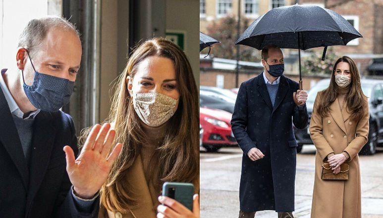 Kate Middleton i książę William próbują ratować wizerunek rodziny królewskiej podczas spotkania z ratownikami (ZDJĘCIA)