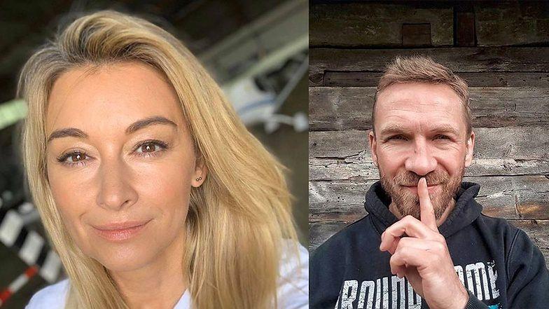 """Martyna Wojciechowska """"komentuje"""" rozstanie z Przemkiem Kossakowskim JEDNYM SŁOWEM"""