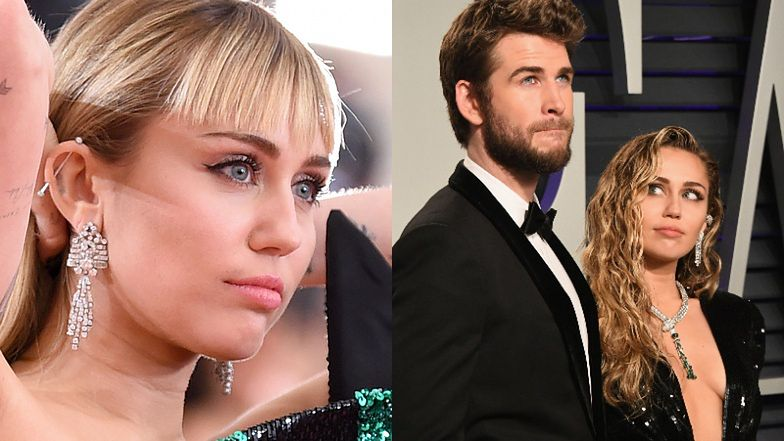 """Miley Cyrus otwiera się na temat trwającego 8 MIESIĘCY małżeństwa z Liamem Hemsworthem: """"Było zbyt wiele konfliktów"""""""