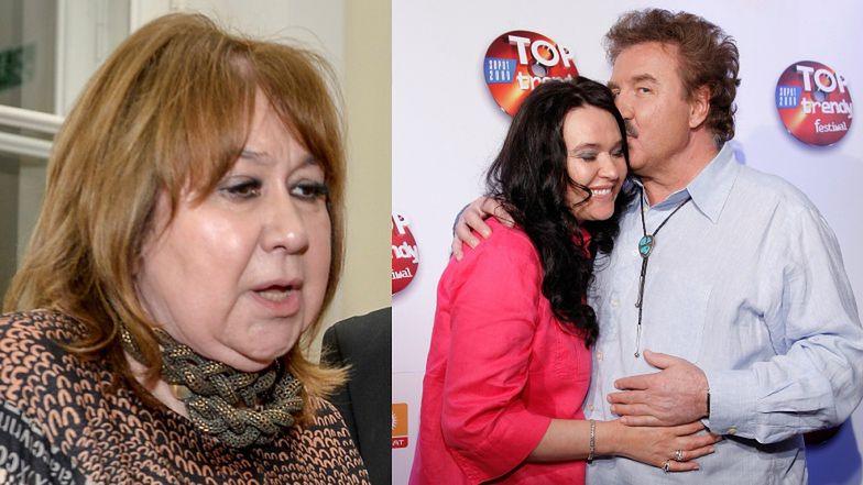 """Żona Daniela Olbrychskiego komentuje spór Krawczyków: """"Nie można tego komentować z zewnątrz"""""""