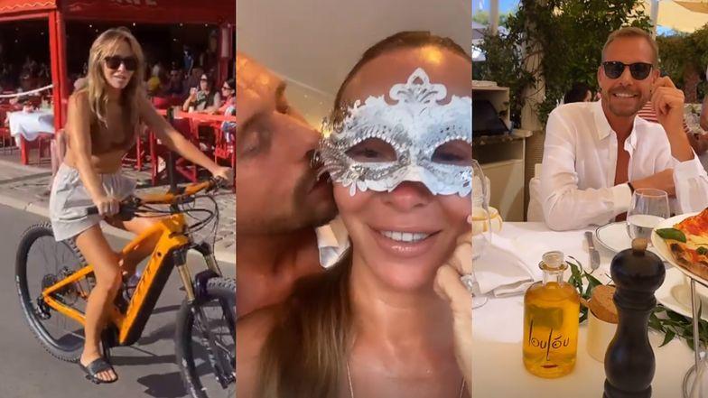 Joanna Przetakiewicz prezentuje szeroki wachlarz atrakcji Saint-Tropez: kąpiele, kolacje i maskarady (ZDJĘCIA)