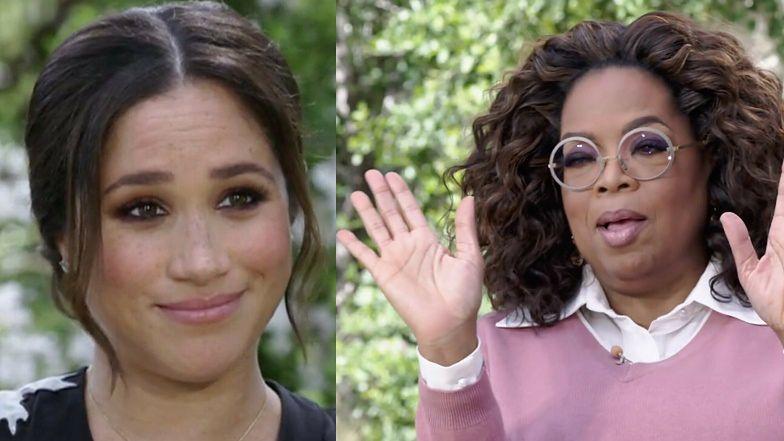 """Oprah Winfrey twierdzi, że była zdziwiona rasistowskimi zarzutami Meghan Markle. """"POSZŁA NA CAŁOŚĆ!"""""""
