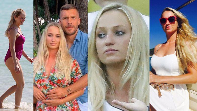 """Tak wygląda żona Lukasa Podolskiego! """"Nie jest TYPOWĄ WAG"""" (ZDJĘCIA)"""