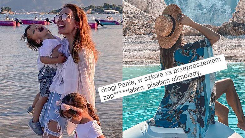 """Wzburzona Anna Wendzikowska odpowiada na pytania o finansowanie niekończących się wakacji: """"W szkole ZAPIE*DALAŁAM, pisałam olimpiady"""""""