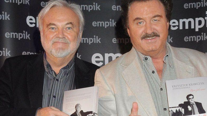 Andrzej Kosmala ujawnia OSTATNIE SŁOWA, które usłyszał od Krzysztofa Krawczyka...