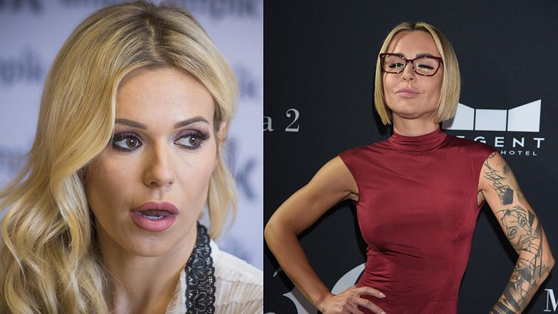 """TYLKO NA PUDELKU: Doda i Blanka Lipińska """"walczą"""" ze sobą na FILMY. """"Koleżeństwo się skończyło"""""""