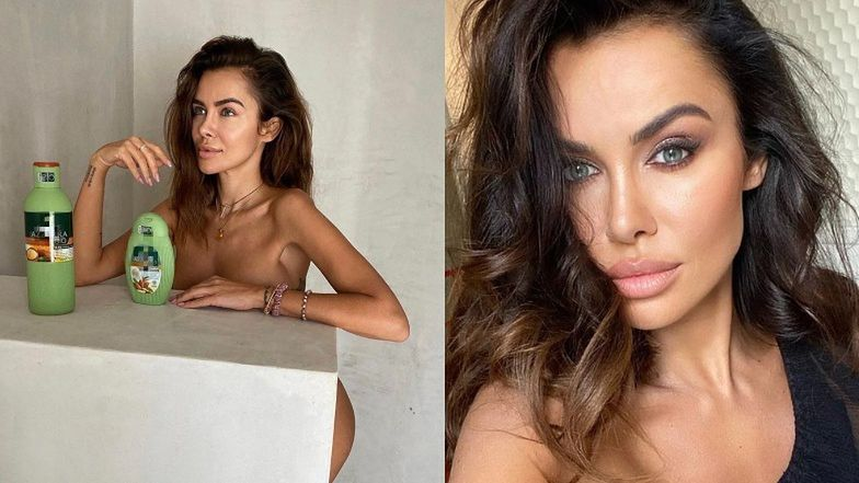 Pomysłowa Natalia Siwiec reklamuje kosmetyki GOŁYM POŚLADKIEM (FOTO)