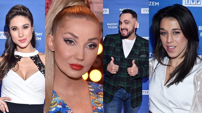 Gwiazdy TVP pozują na prezentacji wiosennej ramówki