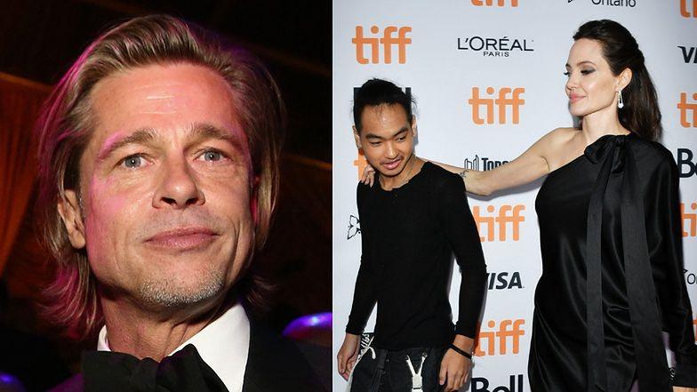 """Brad Pitt jest załamany tym, że Maddox zeznawał przeciwko niemu w sądzie: """"TO ZŁAMAŁO MU SERCE"""""""