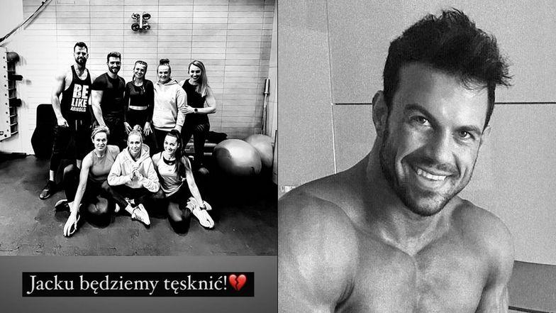 Jacek Kramek nie żyje. Trener personalny i dobry znajomy Anny Lewandowskiej miał 32 lata