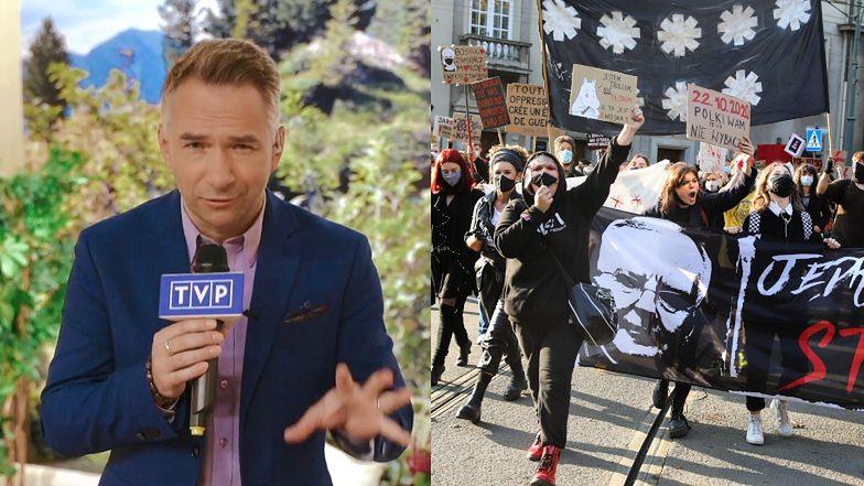 """Polki protestują, a TVP """"żartuje"""" ze stosowania wobec kobiet ŚREDNIOWIECZNYCH TORTUR"""
