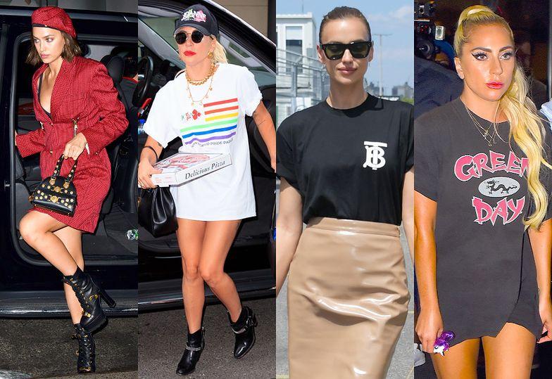 Porównanie stylizacji gwiazd: Irina Shayk vs Lady Gaga