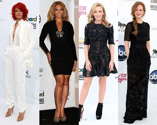 Rihanna, Beyonce, Kylie i Nicole na gali Billboardu! (FOTO)