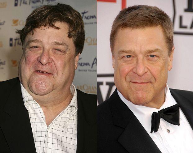 Ile kilo zrzucił John Goodman?