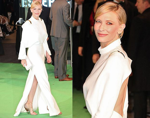 "Piękna Cate Blanchett na premierze ""Hobbita"" (ZDJĘCIA)"