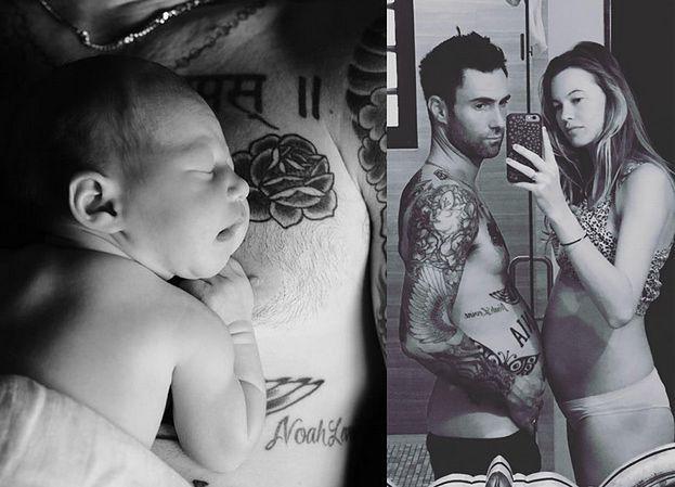 Adam Levine pokazał pierwsze zdjęcie córki! (FOTO)