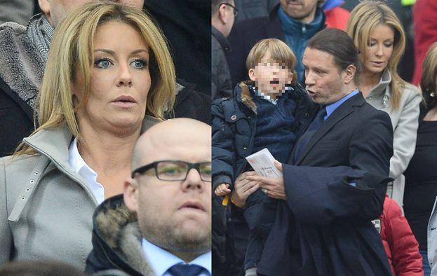 Majdan i Rozenek z dziećmi na meczu! (ZDJĘCIA)