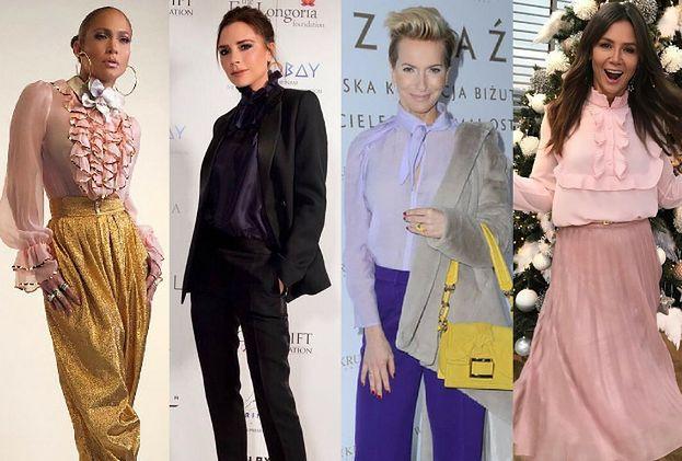 Eleganckie bluzki – jakie wybierają gwiazdy?