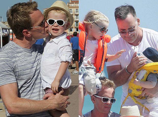 Neil Patrick Harris i mąż Eltona Johna na wakacjach z dziećmi! (ZDJĘCIA)