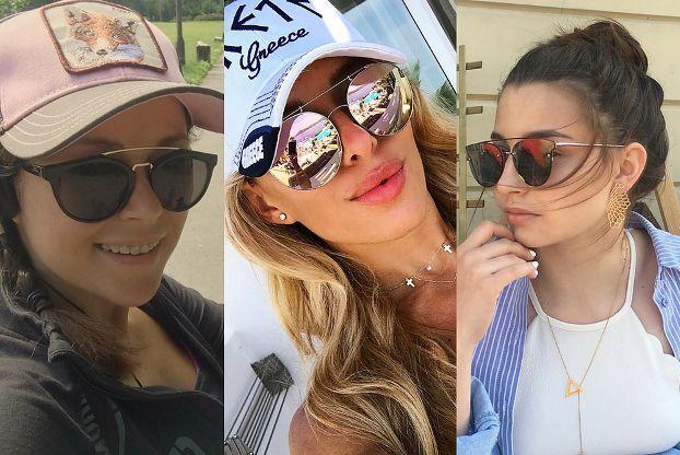 Jakie okulary pilotki noszą celebrytki?