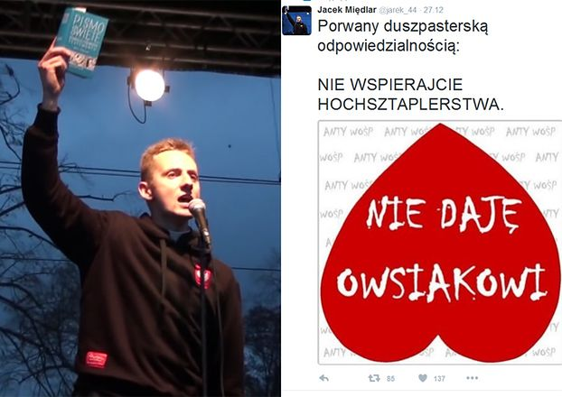 """Ksiądz Międlar apeluje: """"Nie daję Owsiakowi! NIE WSPIERAJCIE HOCHSZTAPLERSTWA!"""""""