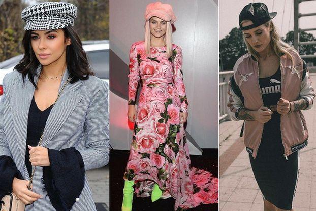 Jakie czapki z daszkiem noszą celebrytki?