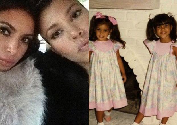 Kim Kardashian pokazuje zdjęcia z dzieciństwa!