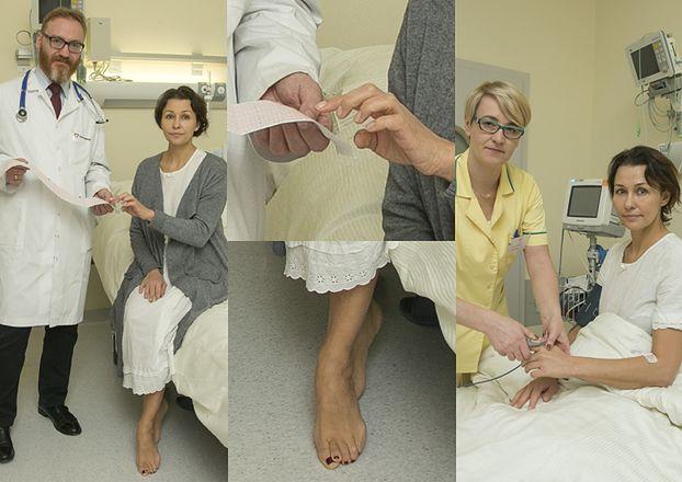 Anna Popek po operacji serca zaprosiła do szpitala fotografów (ZDJĘCIA)