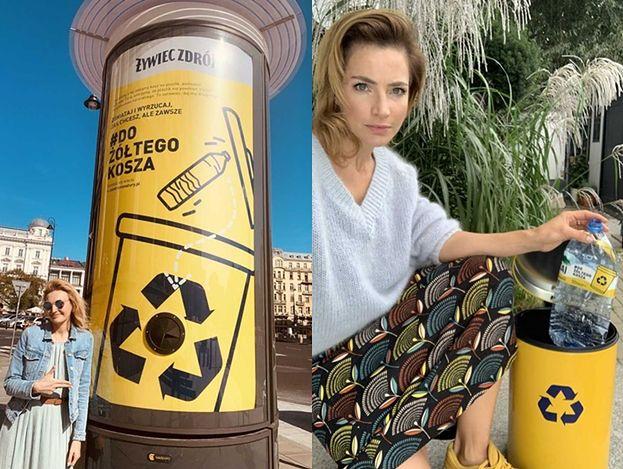 Plejada gwiazd w kampanii Żywiec Zdrój: Dereszowska, Krupa, Jusis, Frycz, Piróg i inni wyrzucają plastik #dożółtegokosza (ZDJĘCIA)