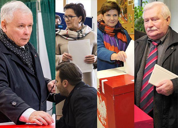 Szydło, Kopacz, Wałęsa i Kaczyński już zagłosowali (ZDJĘCIA)