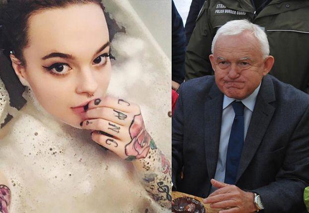 """Wnuczka Millera: """"Dziadek był zdegustowany moimi tatuażami. Pytał, czy da się to zmyć"""""""