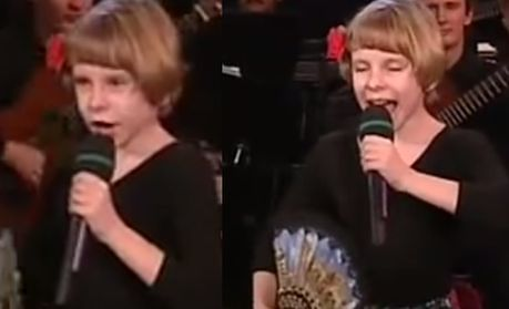 Alicja Janosz w dzieciństwie!