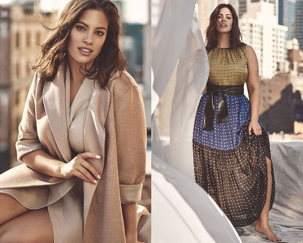 Ashley Graham reklamuje ubrania plus size