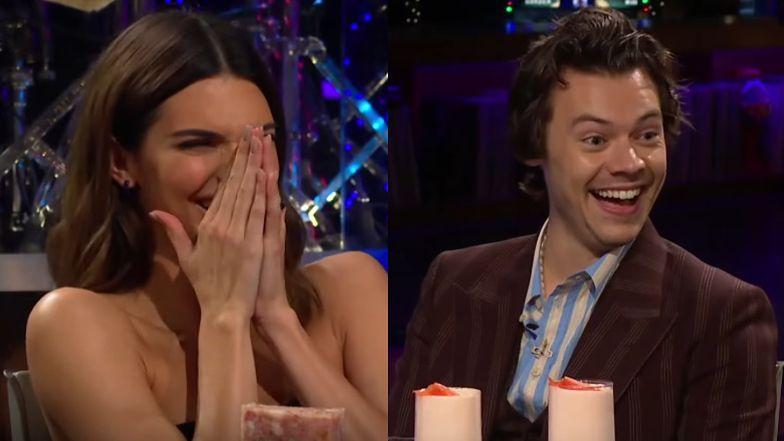 Harry Styles odpowiada na niewygodne pytania o Kardashianki. Kendall spytała go o ich związek!