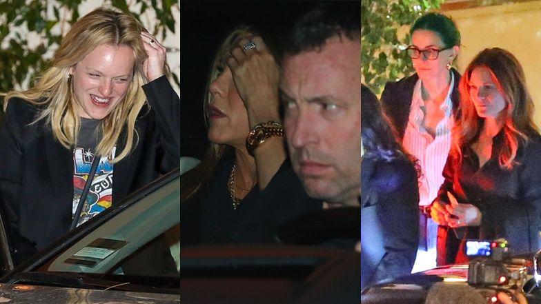 Gwiazdy zmierzają na 51. urodziny Jennifer Aniston. Wśród gości Courteney Cox i Elisabeth Moss