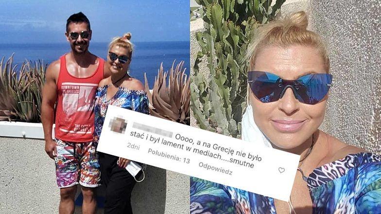 """Hiszpańska urlopowiczka Katarzyna Skrzynecka odpiera zarzuty o hipokryzję: """"Na Grecję nie było stać i BYŁ LAMENT W MEDIACH"""""""