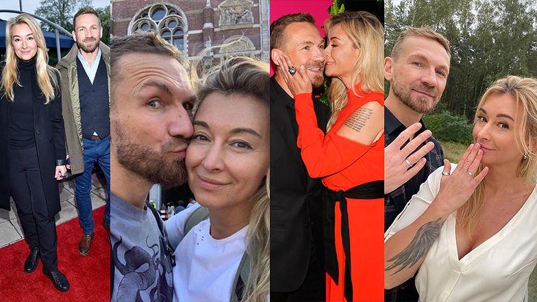 Martyna Wojciechowska i Przemek Kossakowski rozstali się dziewięć miesięcy po ślubie. Pamiętacie początki ich związku? (ZDJĘCIA)