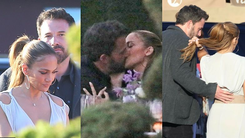 NAMIĘTNE POCAŁUNKI Jennifer Lopez i Bena Afflecka! (ZDJĘCIA)