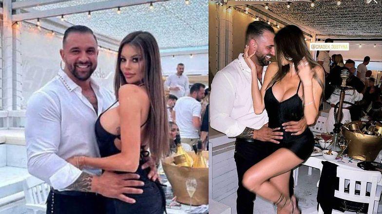 Mężatka Justyna Gradek ma NOWEGO CHŁOPAKA! Modelka obściskuje się z rumuńskim milionerem Alexem Bodim (ZDJĘCIA)