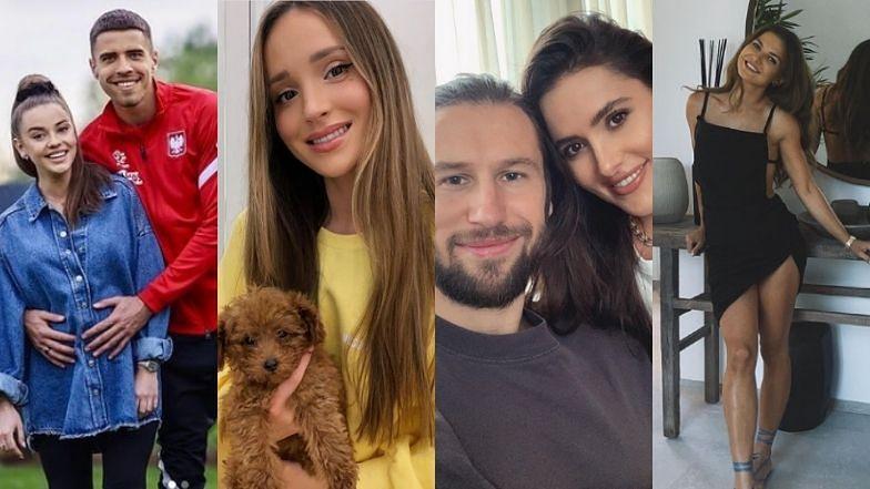"""Euro 2020. Nie tylko """"najbardziej czarująca"""" Marina Łuczenko i Anna Lewandowska. Poznajcie inne polskie WAGs (ZDJĘCIA)"""